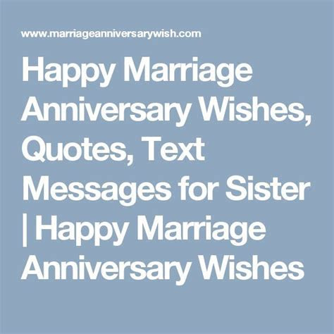 Best 25  Anniversary wishes for sister ideas on Pinterest