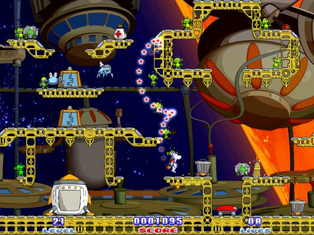 Milky Bear: Rescue Rocket Free PC Game Screenshot
