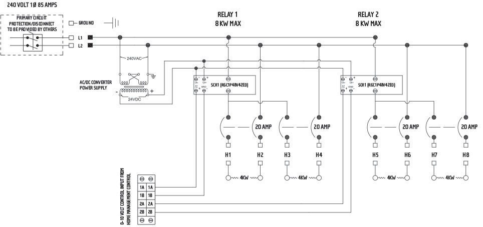 Wall Heater Wiring Diagram For 240
