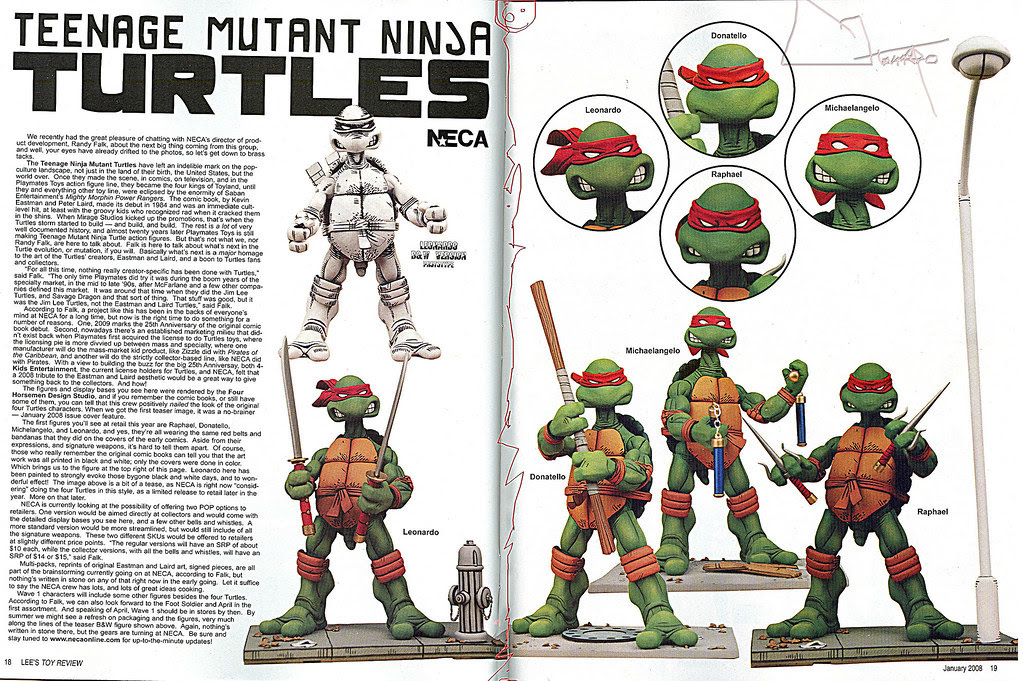 Lee's Toy Review #183 ..pgs. 18 & 19 ((2008))