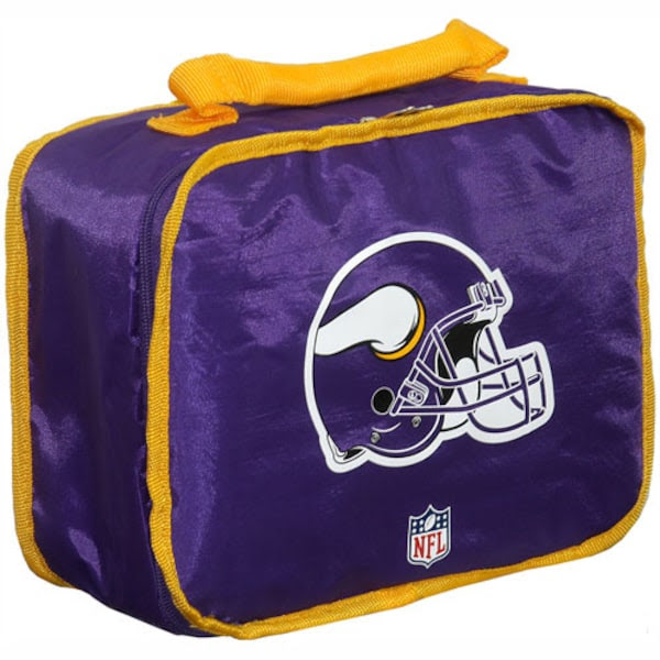 Minnesota Vikings Purple Insulated NFL Lunch Box  NFLShop.com