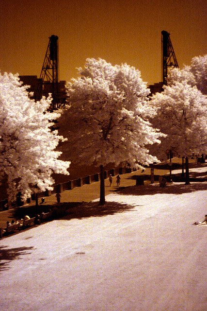 Waterfront Park, IR, May 2010
