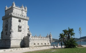 The  Belem Tower is a masterpiece of Manueline Architecture