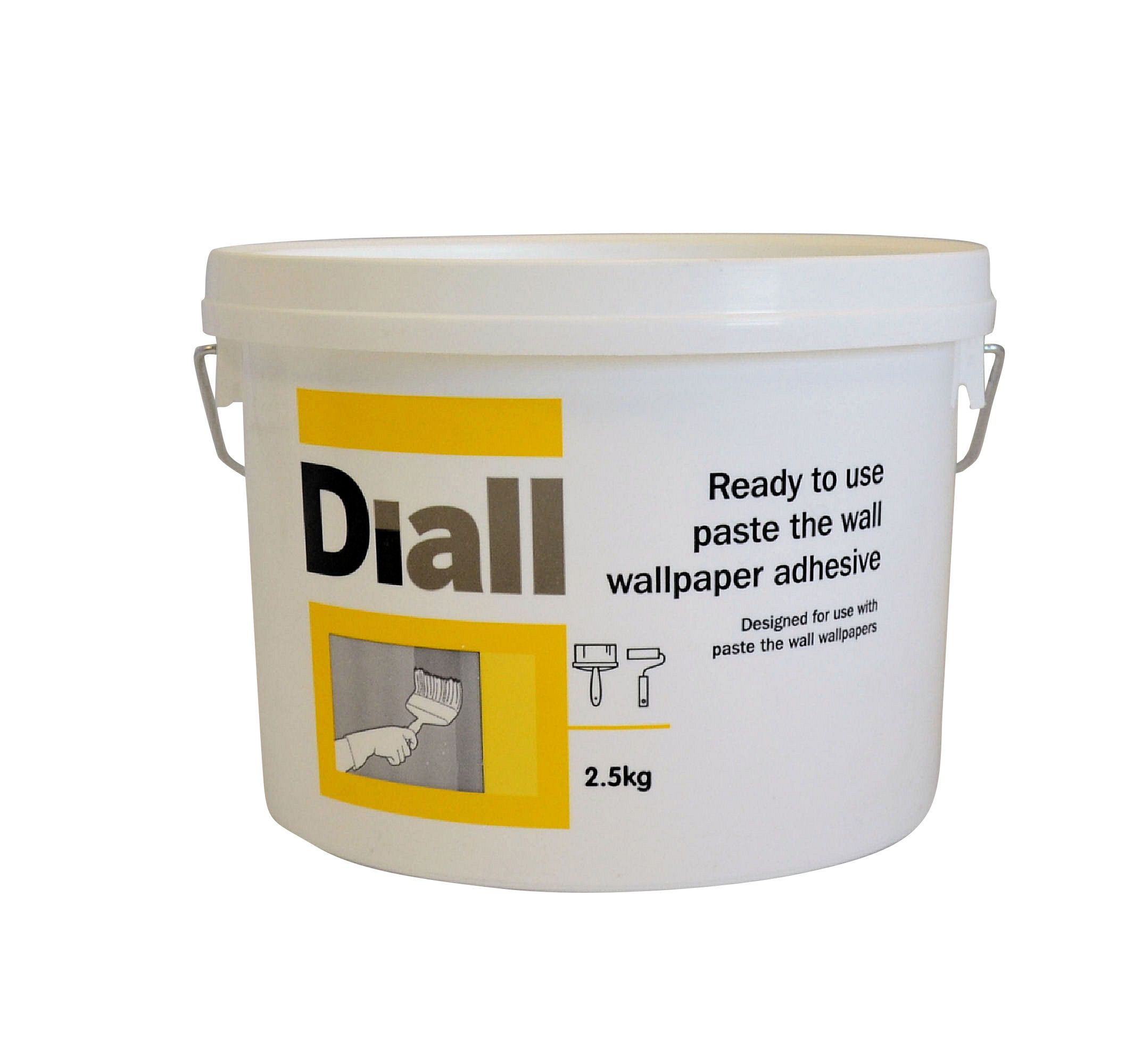 Diall Paste The Wall Ready To Use Wallpaper Adhesive 2 5kg