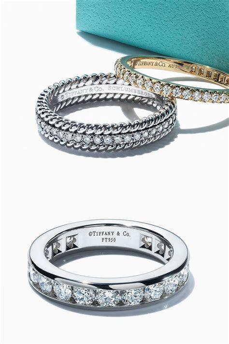 Tiffany T Wide Bar Cuff   Diamond wedding bands, Wedding