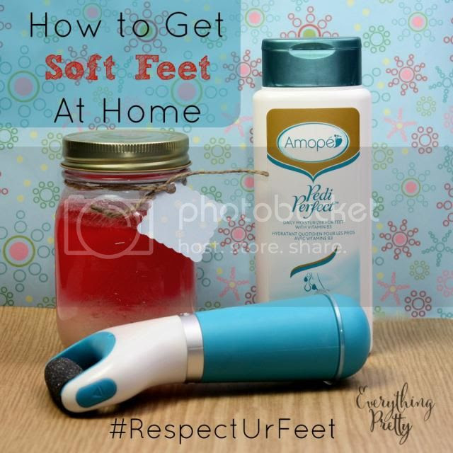 How to do an at home pedicure