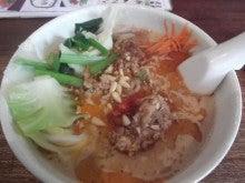 のどかなブログ♪-油揚げ担担麺