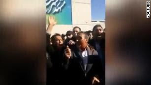 Trump applauds Iran's anti-government protest