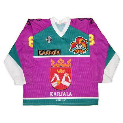 Finland Jokerit Helsinki 1991-92 jersey photo FinlandJokeritHelsinki1991-92F-1.jpg