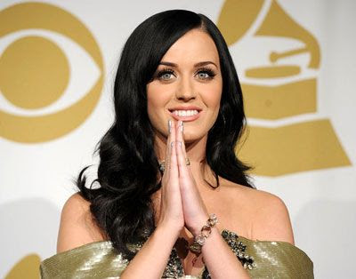 Katy Perry during the 2011 Grammy nominations.