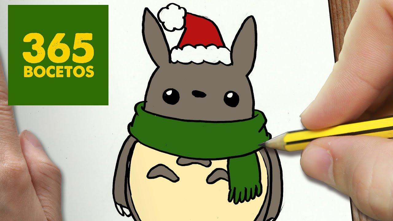 Como Dibujar Un Cuaderno Para Navidad Paso A Paso Dibujos: Imagenes De Navidad Para Dibujar Faciles Kawaii