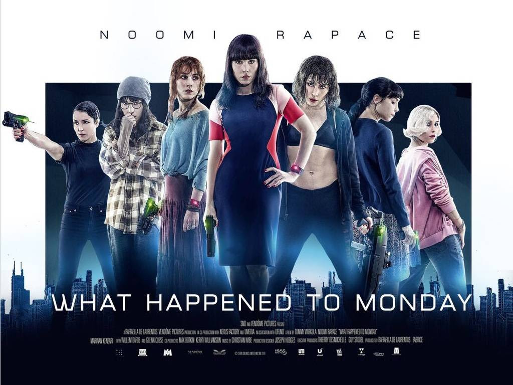 Τι Συνέβη στη Δευτέρα (What Happened to Monday) Quad Poster Πόστερ