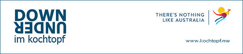 8 Jahre Blog-Event - Down Under im kochtopf plus Verlosung (Einsendeschluss 15. Mai 2013)