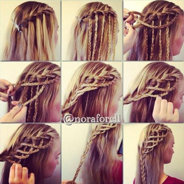 Kurzhaarfrisuren Zopf Haarschnitt