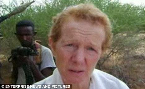 Rachel Chandler, who was taken captive by Somali pirates