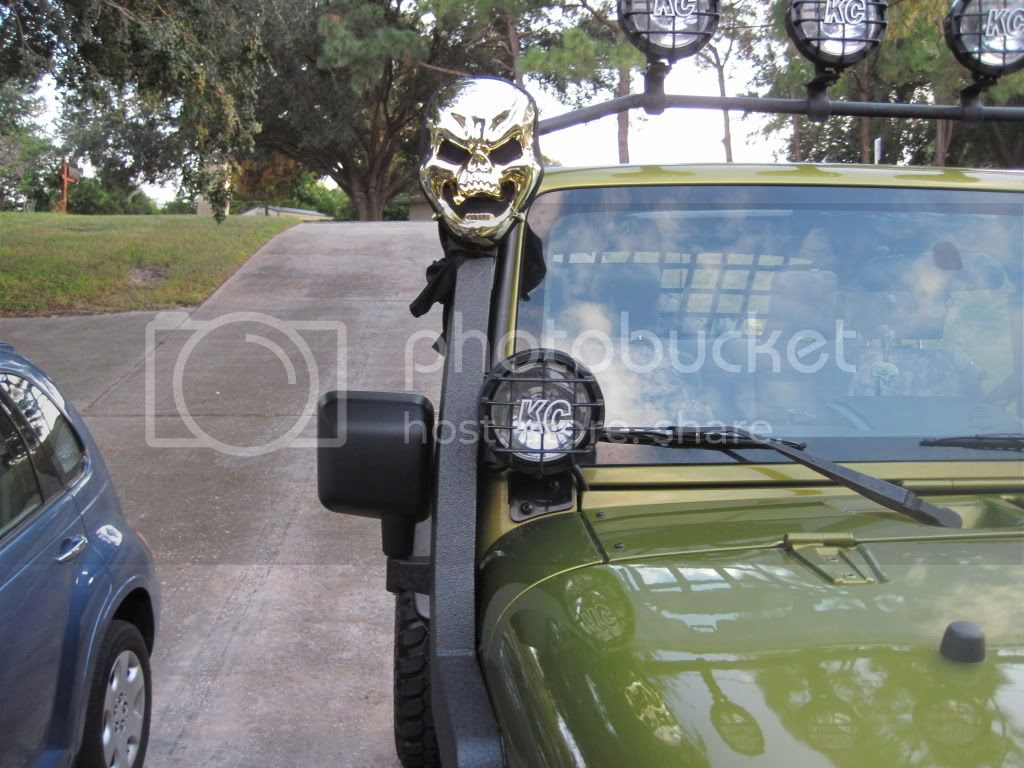 Some Halloween stuff for the Jeep.  JKOwners Forum