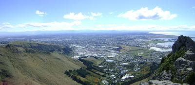 Photo from Castle Rock in Christchurch, New Zealand, taken on 2009-04-07