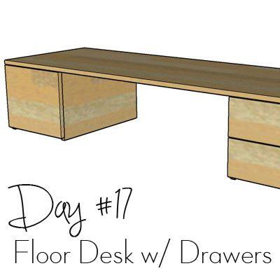 http://www.morelikehome.net/2017/10/diy-desk-series-17-floor-desk-with.html
