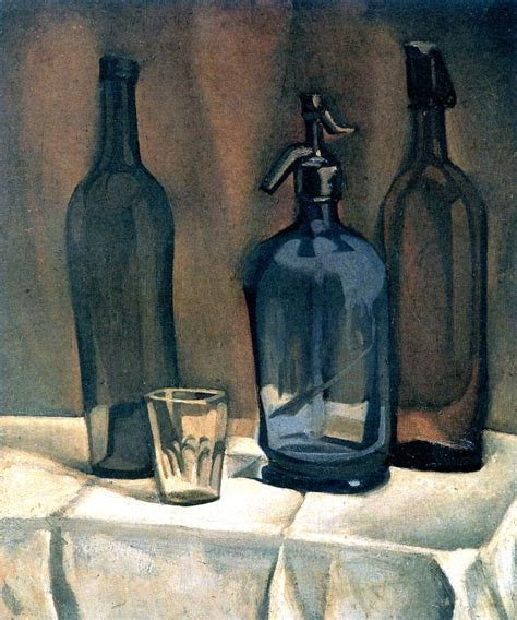 Juan Gris   Siphon and Bottles, 1910   Style Me Pretty