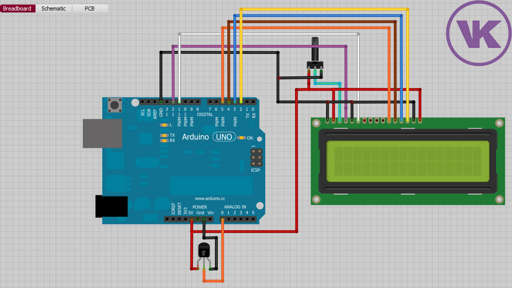 Temperature Controlled Relay Fan with Arduino