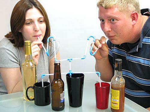 Mix Drinks Straw