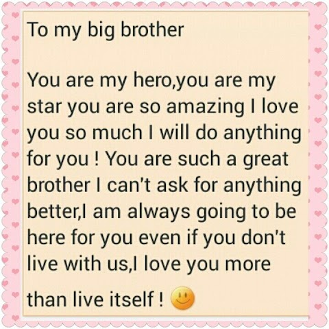 I Love You Brother Quotes