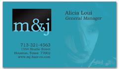 BCS-1085 - salon business card