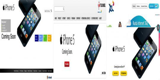 Uang muka pre-order iPhone 5 hanya Rp 500.000