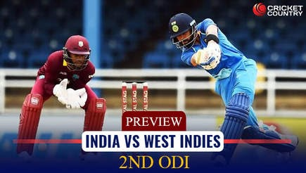 West Indies Tour Of India-2nd Odi Prediction