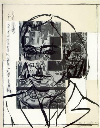 Self-portrait by David Salle, 1994.