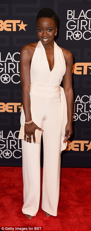 Taking the plunge! Danai Gurira and Kelly Rowland wore nearly identical ensembles that featured extra low necklines