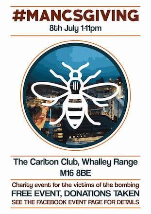 MancsGiving @ The Carlton Club 4 June