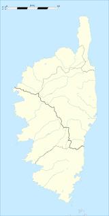 Casevecchie trên bản đồ Corsica
