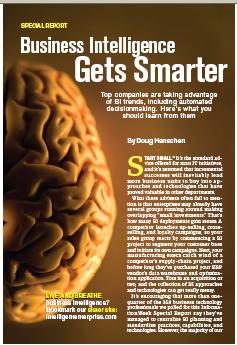 BI Gets Smarter