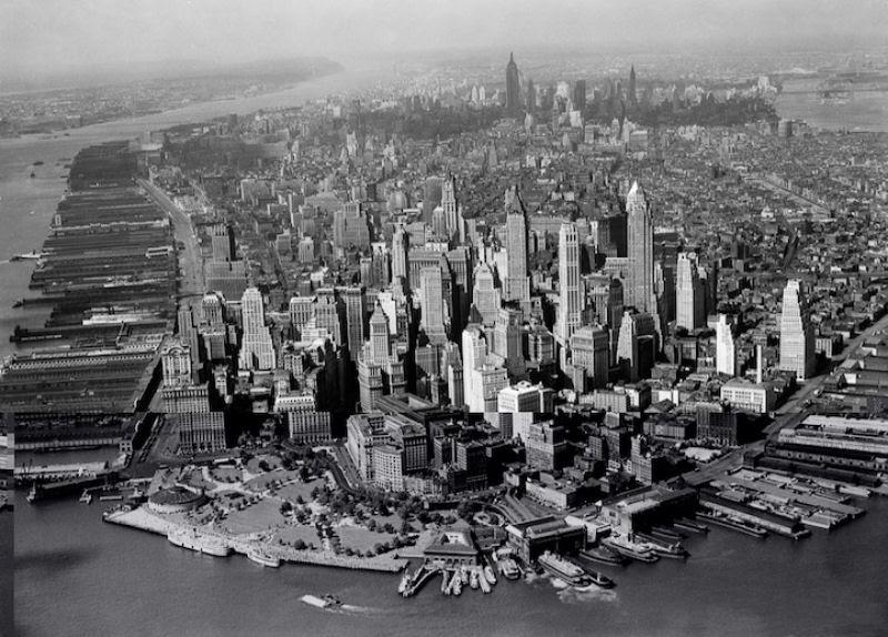 Fotos marcantes mostram a cidade de Nova Iorque ontem e hoje 17