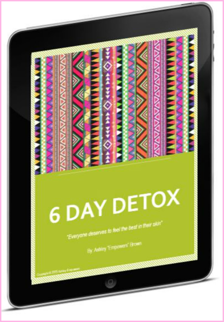 6 Day Juice Detox Planner — Ashley Empowers