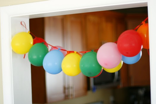 Balloon Streamer Decoration Ideas Elitflat