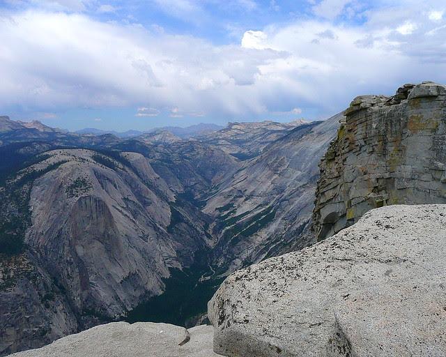 P1180368 Half Dome Trail: Top of Half Dome