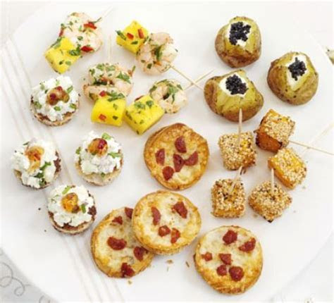 Savoury party bites recipe   BBC Good Food