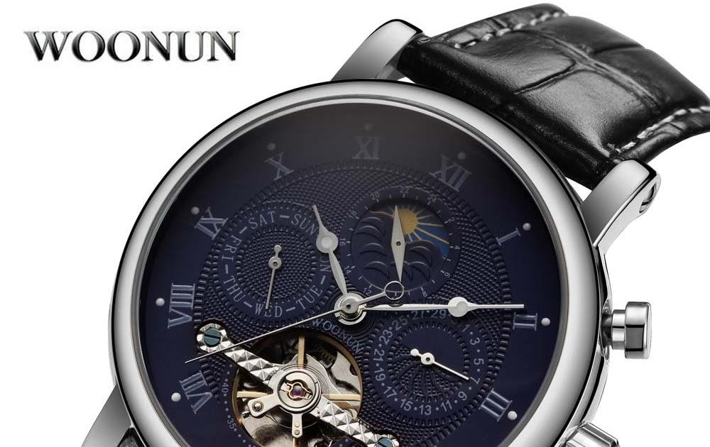 682a637d704 Comprar Top Marca De Relógios Luxo Homens Tourbillon Automatic Self vento  Relógio Mecânico Homem Horloge Mannen Horloges Reloj Hombre Baratas Online  Preço ...