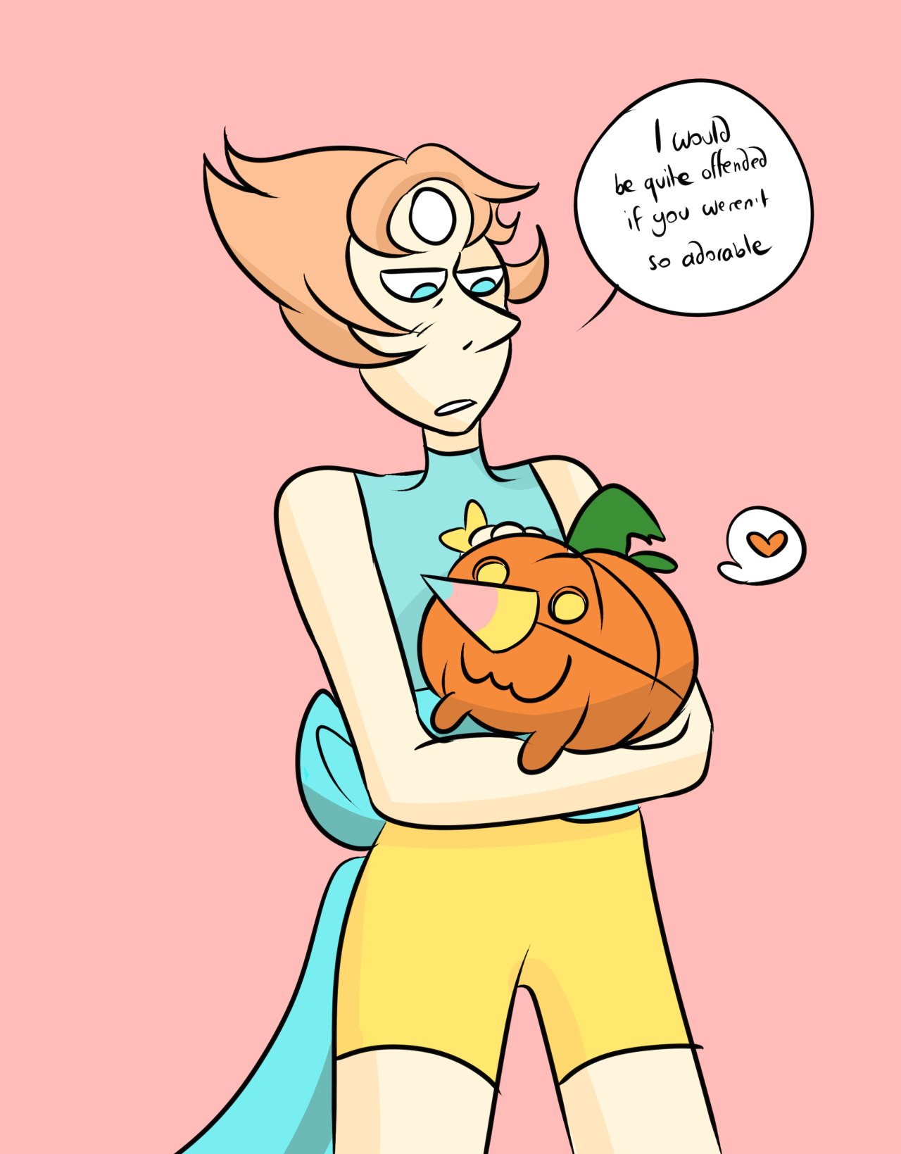 you did a great job at playing pearl, pumpkin pup!!