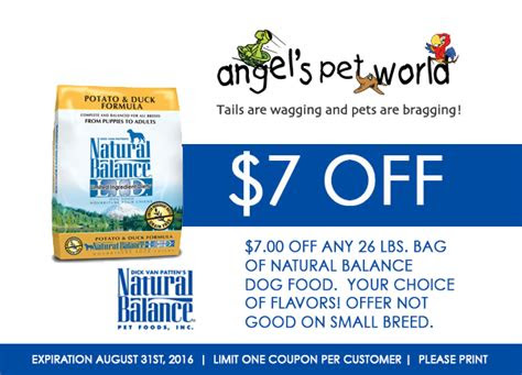 natural balance angels pet world