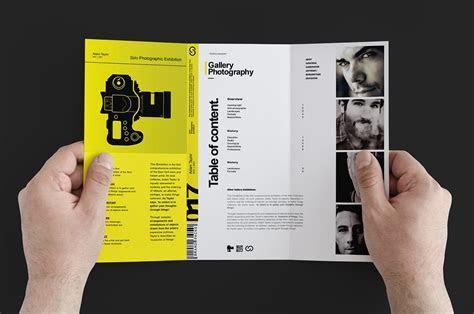 Photography Exhibition Tri fold ~ Brochure Templates