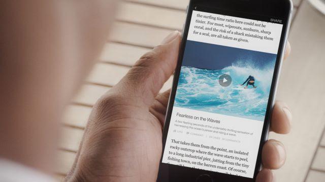 Facebook lança recurso para leitura de notícias
