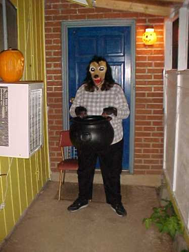 Would you approach this door to face this creature?