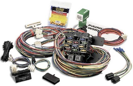Race Car Wiring Harness Diagram on