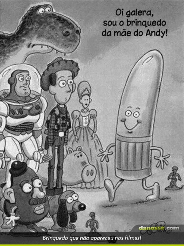 Brinquedo que não apareceu em Toy Story