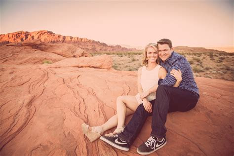 Hot Valley of Fire Engagement from Ostara Photography