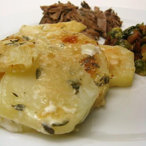 Potato & Celeriac Gratin