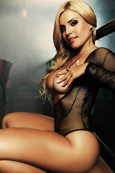 """Fernanda Abraão em foto de ensaio para a """"Sexy"""""""